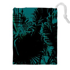 Palm Designs Drawstring Pouches (xxl) by timelessartoncanvas