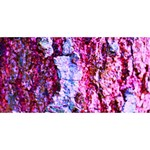 Purple Tree Bark SORRY 3D Greeting Card (8x4)  Front