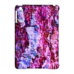 Purple Tree Bark Apple Ipad Mini Hardshell Case (compatible With Smart Cover) by timelessartoncanvas