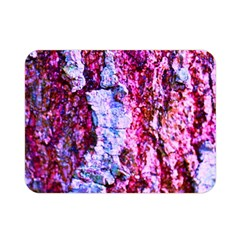 Purple Tree Bark Double Sided Flano Blanket (mini)  by timelessartoncanvas