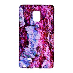 Purple Tree Bark Galaxy Note Edge by timelessartoncanvas