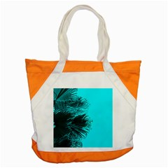 Modern Palm Leaves Accent Tote Bag  by timelessartoncanvas