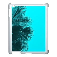 Modern Palm Leaves Apple Ipad 3/4 Case (white) by timelessartoncanvas