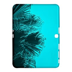 Modern Palm Leaves Samsung Galaxy Tab 4 (10 1 ) Hardshell Case  by timelessartoncanvas