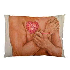Embrace Love  Pillow Cases (two Sides) by KentChua