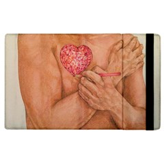 Embrace Love  Apple Ipad 2 Flip Case by KentChua
