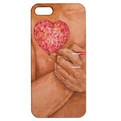 Embrace Love  Apple Iphone 5 Hardshell Case With Stand by KentChua