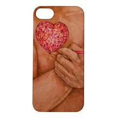Embrace Love  Apple Iphone 5s Hardshell Case by KentChua