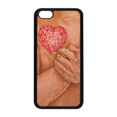 Embrace Love  Apple Iphone 5c Seamless Case (black) by KentChua