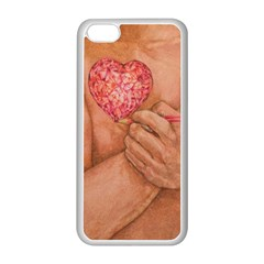 Embrace Love  Apple Iphone 5c Seamless Case (white) by KentChua