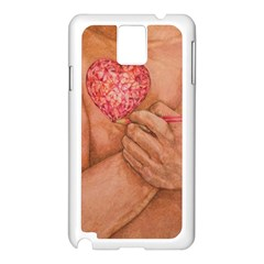 Embrace Love  Samsung Galaxy Note 3 N9005 Case (white) by KentChua