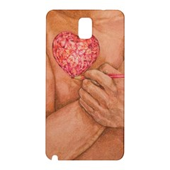 Embrace Love  Samsung Galaxy Note 3 N9005 Hardshell Back Case by KentChua