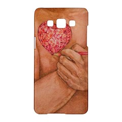 Embrace Love  Samsung Galaxy A5 Hardshell Case  by KentChua