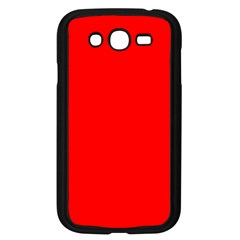 Trendy Red  Samsung Galaxy Grand Duos I9082 Case (black) by Costasonlineshop
