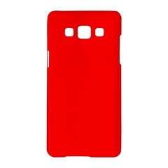 Trendy Red  Samsung Galaxy A5 Hardshell Case  by Costasonlineshop