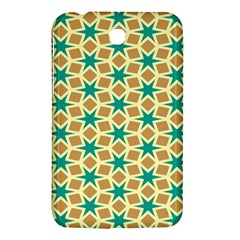 Stars And Squares Pattern			samsung Galaxy Tab 3 (7 ) P3200 Hardshell Case by LalyLauraFLM