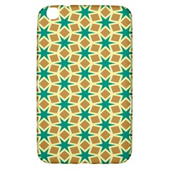 Stars And Squares Pattern			samsung Galaxy Tab 3 (8 ) T3100 Hardshell Case by LalyLauraFLM