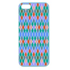Pastel Rhombus Pattern			apple Seamless Iphone 5 Case (color) by LalyLauraFLM