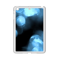 Blue Circles Ipad Mini 2 Enamel Coated Cases by timelessartoncanvas
