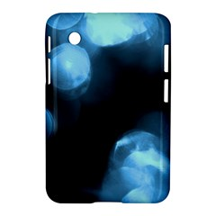 Blue Circles Samsung Galaxy Tab 2 (7 ) P3100 Hardshell Case  by timelessartoncanvas