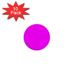 Trendy Purple  1  Mini Buttons (10 Pack)  by Costasonlineshop