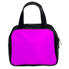 Trendy Purple  Classic Handbags (2 Sides) by Costasonlineshop
