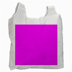 Trendy Purple  Recycle Bag (one Side) by Costasonlineshop