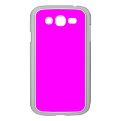 Trendy Purple  Samsung Galaxy Grand Duos I9082 Case (white) by Costasonlineshop