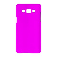 Trendy Purple  Samsung Galaxy A5 Hardshell Case  by Costasonlineshop