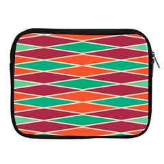 Distorted Rhombus Pattern			apple Ipad 2/3/4 Zipper Case by LalyLauraFLM