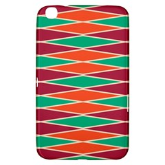 Distorted Rhombus Pattern			samsung Galaxy Tab 3 (8 ) T3100 Hardshell Case by LalyLauraFLM