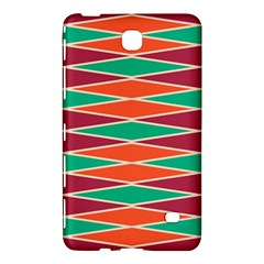 Distorted Rhombus Pattern			samsung Galaxy Tab 4 (7 ) Hardshell Case by LalyLauraFLM