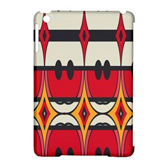 Rhombus Ovals And Stripes			apple Ipad Mini Hardshell Case (compatible With Smart Cover) by LalyLauraFLM