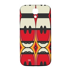 Rhombus Ovals And Stripes			samsung Galaxy S4 I9500/i9505 Hardshell Back Case by LalyLauraFLM