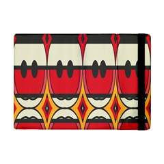 Rhombus Ovals And Stripes			apple Ipad Mini 2 Flip Case by LalyLauraFLM