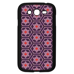 Flowers And Honeycomb Pattern			samsung Galaxy Grand Duos I9082 Case (black) by LalyLauraFLM
