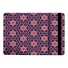 Flowers And Honeycomb Pattern			samsung Galaxy Tab Pro 10 1  Flip Case by LalyLauraFLM
