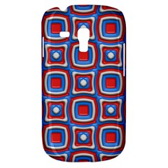 3d Squares			samsung Galaxy S3 Mini I8190 Hardshell Case by LalyLauraFLM