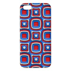 3d Squares			apple Iphone 5 Premium Hardshell Case by LalyLauraFLM