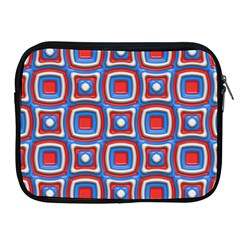 3d Squares			apple Ipad 2/3/4 Zipper Case by LalyLauraFLM
