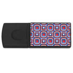 3d Squares 			usb Flash Drive Rectangular (4 Gb) by LalyLauraFLM