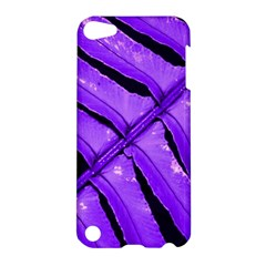 Purple Fern Apple Ipod Touch 5 Hardshell Case by timelessartoncanvas