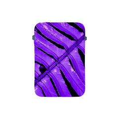 Purple Fern Apple Ipad Mini Protective Soft Cases by timelessartoncanvas