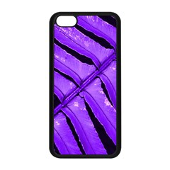 Purple Fern Apple Iphone 5c Seamless Case (black) by timelessartoncanvas