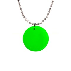 Cool Green Button Necklaces by Costasonlineshop
