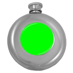 Cool Green Round Hip Flask (5 Oz) by Costasonlineshop
