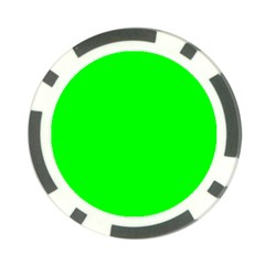 Cool Green Poker Chip Card Guards by Costasonlineshop