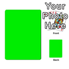 Cool Green Multi Purpose Cards (rectangle)  by Costasonlineshop