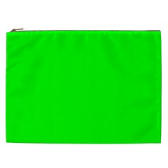 Cool Green Cosmetic Bag (xxl)  by Costasonlineshop