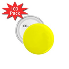 Beautiful Yellow 1 75  Buttons (100 Pack)  by Costasonlineshop